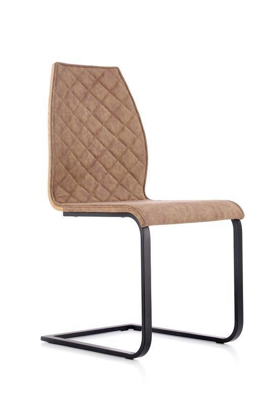 Krzesło K265 dąb miodowy/brązowy