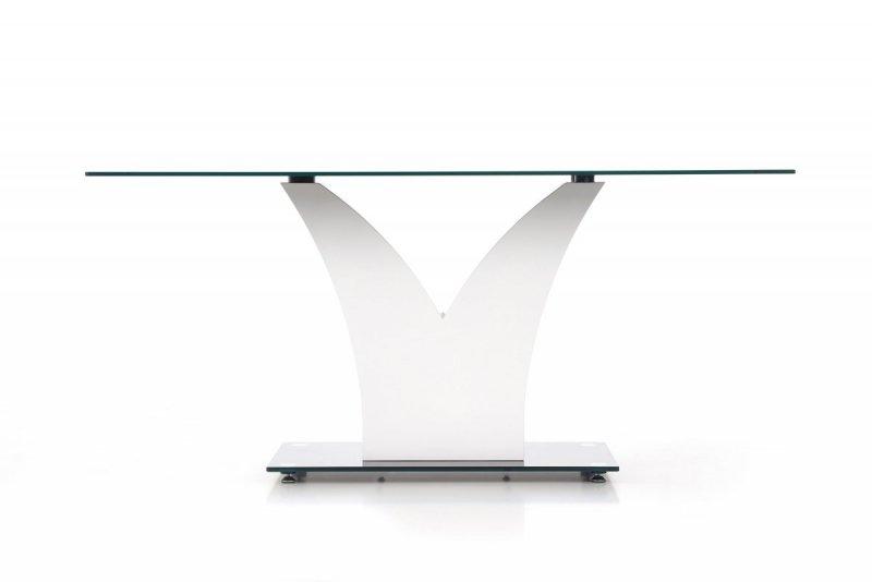 Stół VESPER czarny/biały