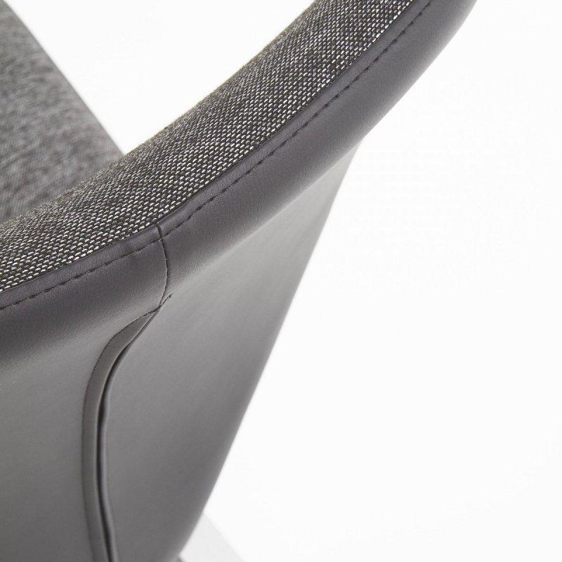 Krzesło K307 czarny/ciemno popielaty