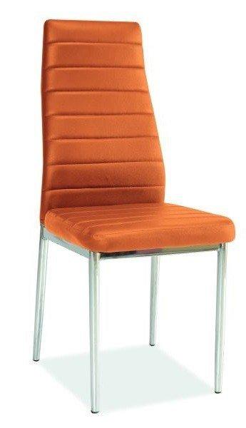 Krzesło H261 pomarańczowe
