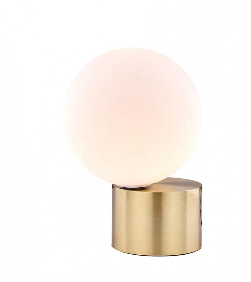 Lampa stołowa PARLA biało-złota