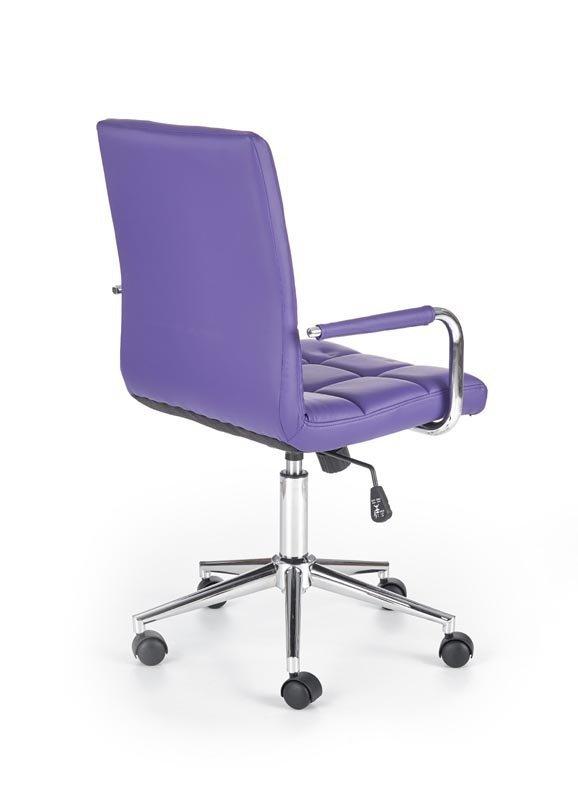 Fotel młodzieżowy GONZO 2 fioletowy