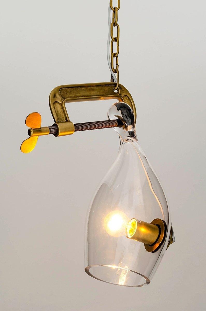 Lampa wisząca VICE mosiądz