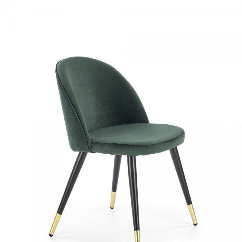 Krzesło K315 ciemno zielone