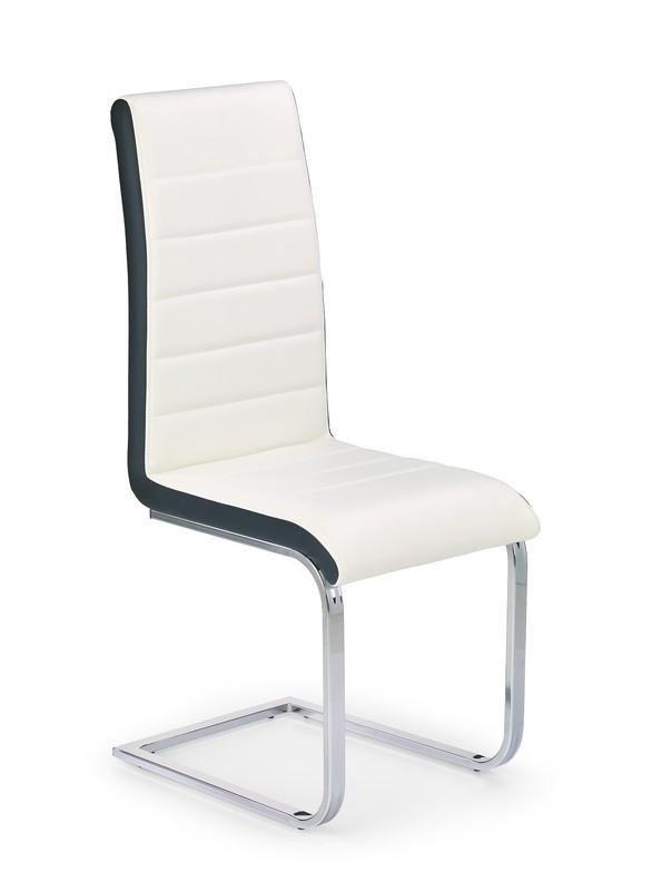 Krzesło K132 biało-czarne
