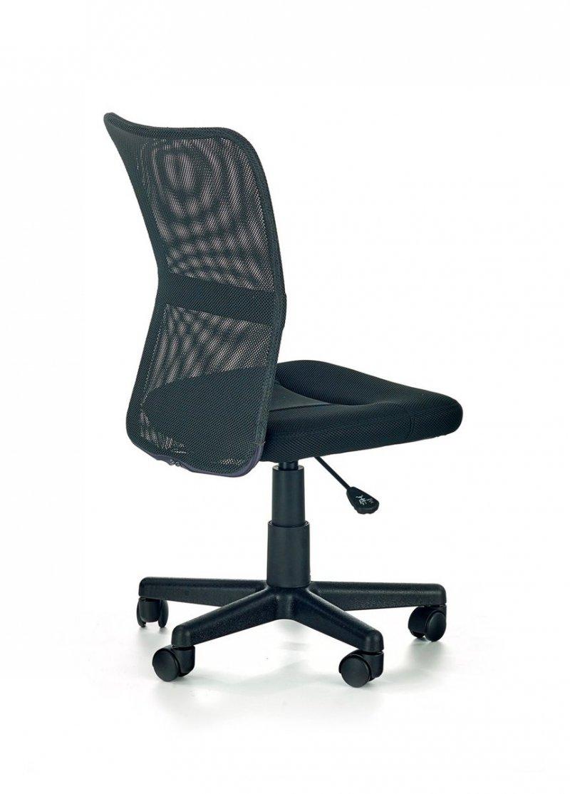 Fotel młodzieżowy DINGO popielaty/czarny