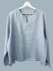 Koszula męska błękit r. 46 (S)
