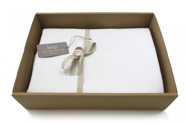 Obrus SIMPLE 150x300 biały