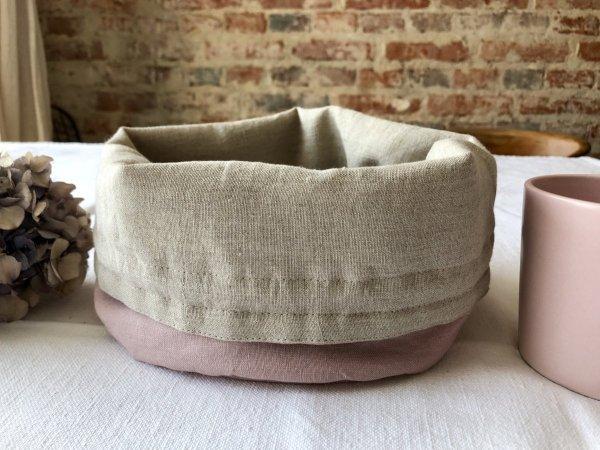 Koszyk na pieczywo (róż)