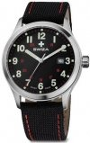 Zegarek KRETOS Gent, SST, black/red, black WAT.0251.1005