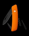 Scyzoryk SWIZA D01 ALLBLACK Pomarańczowy
