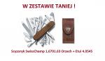 Scyzoryk Victorinox SwissChamp 1.6791.63 Orzech + Etui 4.0545