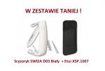 Scyzoryk SWIZA D03 Biały KNI.0030.1020 + Etui XSP.1007