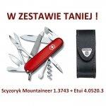 Victorinox Scyzoryk Mountaineer 1.3743 w zestawie z etui