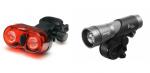 Zestaw Lamp Rowerowych Przód ABF0011 + Tył L-BPM-2SL