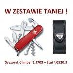 Victorinox Climber Scyzoryk 1.3703 w zestawie z etui