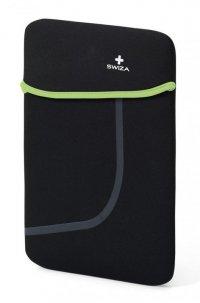 Kieszeń na laptop / tablet MORANDA 10 BSL.1012.03 czarny,zielony