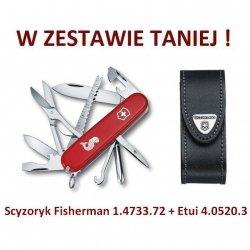 Victorinox Scyzoryk Fisherman 1.4733.72 w zestawie z etui