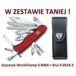 Victorinox WorkChamp 0.9064 w zestawie z etui
