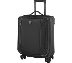 Walizka Lexicon 2.0, Dual-Caster Wide-Body Carry-On, Czarna