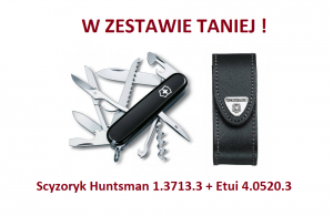Victorinox Huntsman 1.3713.3 w zestawie z etui