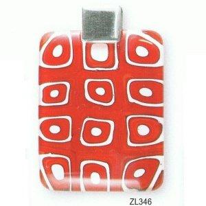 Wisior Żółw MURANO GLASS ZL346