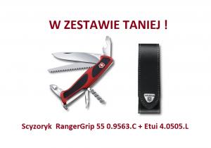 Scyzoryk Victorinox RangerGrip 55 0.9563.C w zestawie z etui
