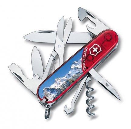 Scyzoryk Victorinox Climber Jungfrau 1.3703.TE3 GRAWER GRATIS