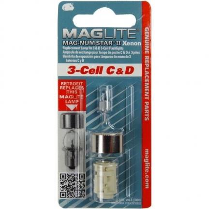 Żarówka Maglite xenon 3C , 3D LMXA301