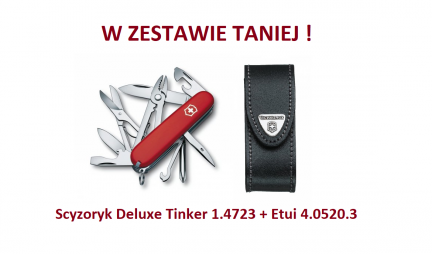 Scyzoryk Victorinox Deluxe Tinker 1.4723 + Etui 4.0520.3