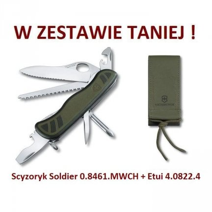 Victorinox Scyzoryk Soldier 0.8461.MWCH w zestawie z etui