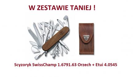 Scyzoryk Victorinox SwissChamp 1.6791.63 Orzech w zestawie z etui