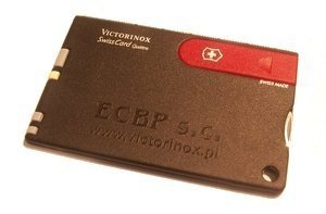 Grawerowanie laserowe na SwissCard