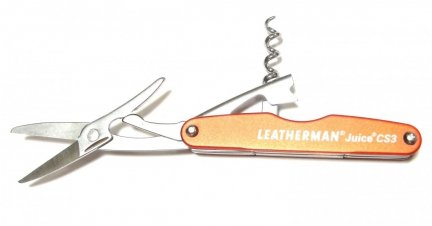Multitool, Leatherman Juice CS3 Cinnabar Orange 832369