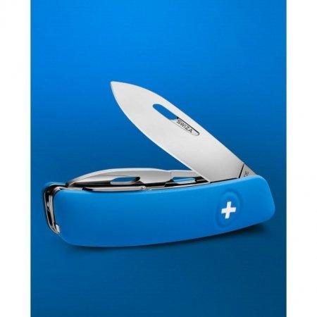 Scyzoryk SWIZA D04 Niebieski KNI.0040.1030 GRAWER NA OSTRZU GRATIS !