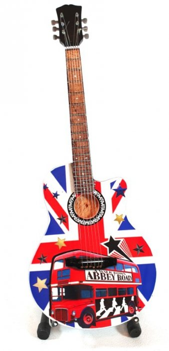 Mini gitara -  The Beatles - Abbey Road  MGT-5159