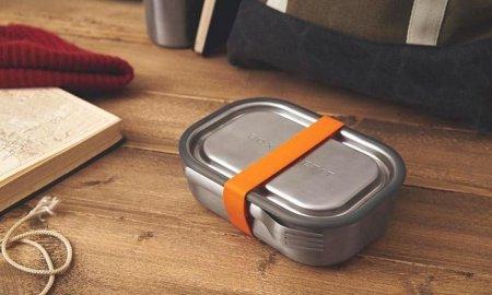 BB - Lunch box stalowy L, morski