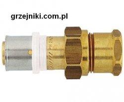 Złącze proste zaciskowo-śrubunkowe, 20*2-3/4 GW