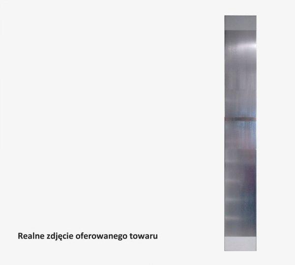 Grzejnik Projectclima ORTA 1600x200 ALUMINIUM LUX  + reling na ręcznik moc 381W