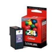 Tusz Lexmark 24 do X-3530/3550/4530/4550 | zwrotny | CMY