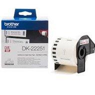 Etykieta Brother do QL-800 | 62mm x 15.24m | czarno/czerwony druk