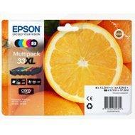 Tusz  Epson zestaw  T33,   CMYK  Claria 33XL