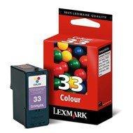 Tusz Lexmark 33 do X-5250/3330/7170/8350, Z-815 | CMY eol