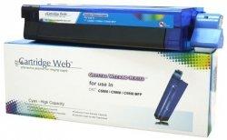 Toner Cartridge Web Cyan OKI C5800 zamiennik 43324423