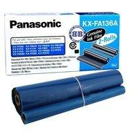 Folia Panasonic do faksów KX-F1110/1015 KX-FP121/131PD | 2 x 330 str. | black