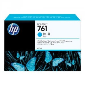 Tusz HP 761 do Designjet T7100/T7200 | 400ml | cyan