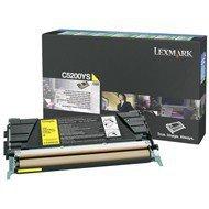 Kaseta z tonerem Lexmark do C530   zwrotny   1 500 str.   yellow