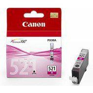 Tusz Canon  CLI521M  do   iP-3600/4600, MP-540/620/630/980 | 9ml | magenta