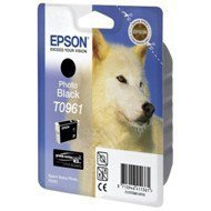 Tusz Epson  T0961  do  Stylus  Photo R2880 | 11,4ml |    photo black