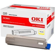 Toner Oki do MC860 | 10 000 str. | yellow